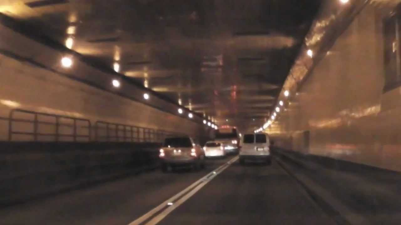 Traveling Through The Lincoln Tunnel Youtube