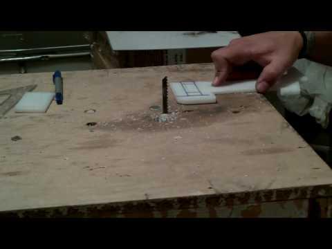 sierra de banco casera - DIY