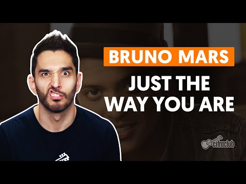 Just The Way You Are - Bruno Mars (aula de violão simplificada)