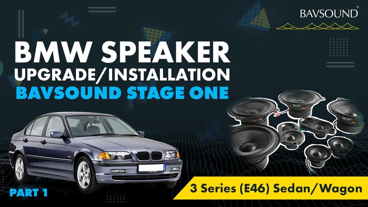 1 3 Bmw 3 Series E46 Sed Wag Speaker Upgrade Install 1