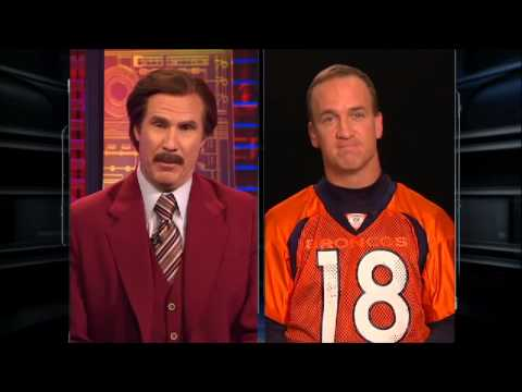 AFC Playoffs - San Diego Chargers at Denver Broncos (Peyton Manning Interview)