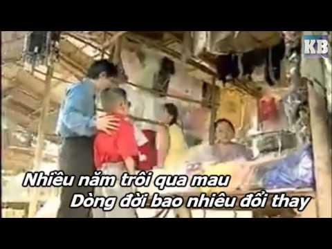 [Karaoke HD] Khúc Hát Cha Yêu - Lý Hải