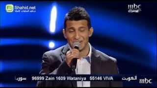 Arab Idol  - حلقة الشباب - جمال عباد - إبعتلي جواب