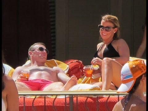 Wayne Rooney puts football woes behind him as he takes wife Coleen on luxury Las Vegas getaway follo