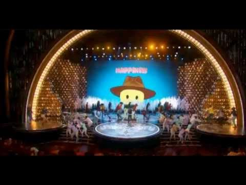 Pharrell Williams The 2014 Oscars Performing