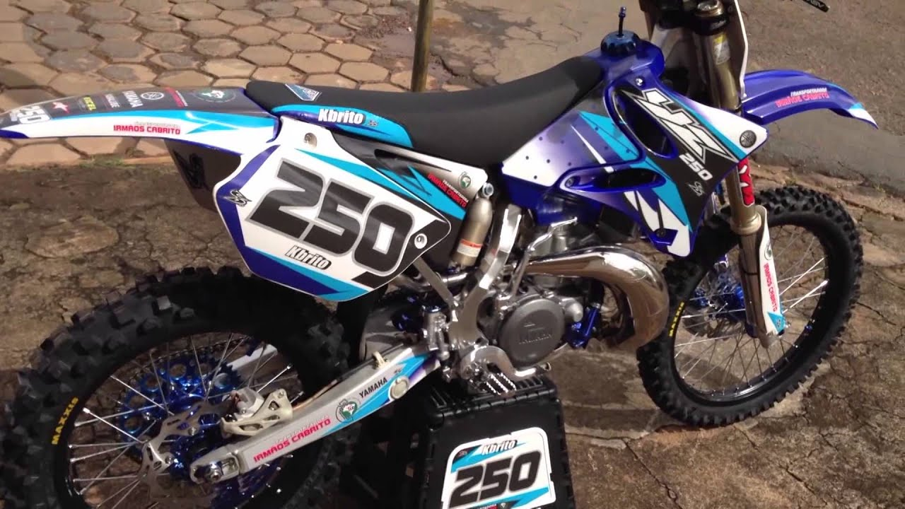 Yamaha yz 250 two stroke 2 tempos youtube