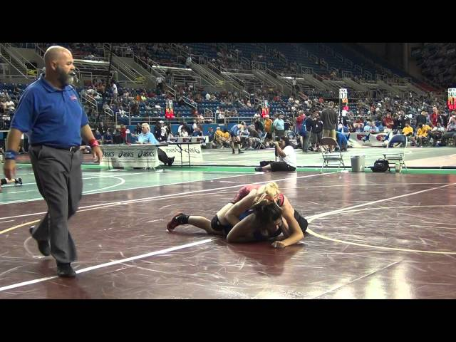 148 Desiree Harms (Washington) over Alyssa Hernandez (California #1)