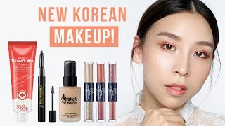 NEW Korean Makeup! TINA TRIES IT