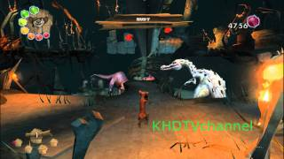 Video Ice Age 3 Dawn Of The Dinosaurs PC Walkthrough Part 9