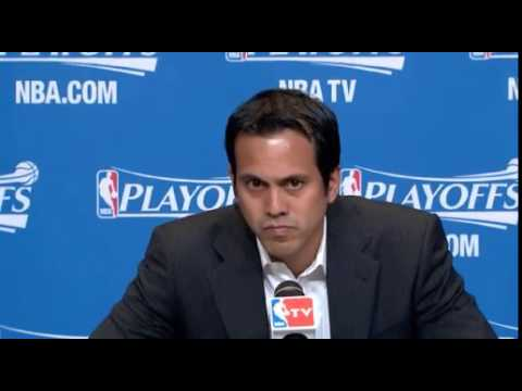 No questions for Erik Spoelstra before Game 5 vs Nets