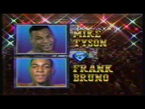 Mike Tyson vs Frank Bruno 1, HBO Program