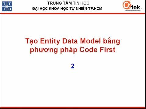 Tạo Entity data model bằng phương pháp CodeFirst2