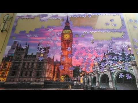 Big Ben 1000 piece puzzle-day 4
