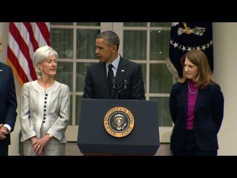 Obama nomeia nova secretária de Saúde