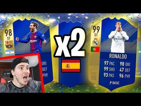 RONALDO TOTS o MESSI TOTS??!! TROVO 2 TOTS SUBITO! Pack Opening FIFA 18 Ultimate Team