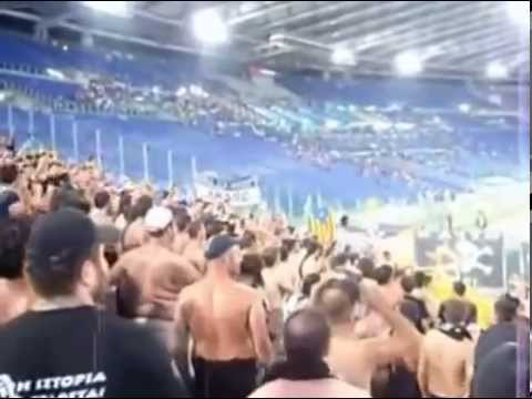 GATE 4: Road to Rome - Hooligans PAOK Thessaloniki