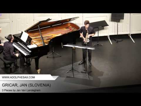 Dinant 2014 – GRICAR, Jan (3 Pieces by Jan Van Landeghem)