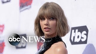 Taylor Swift breaks political silence