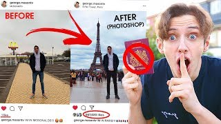 I FAKED going on HOLIDAY for a whole WEEK  *PHOTOSHOPPING MY INSTAGRAM* PRANK