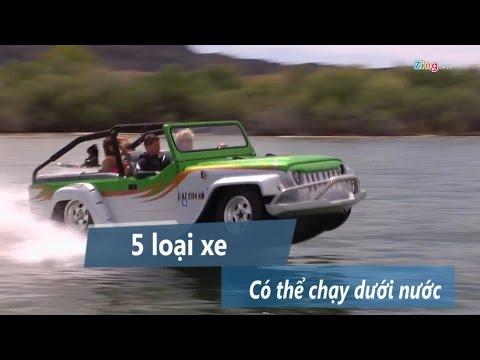 5 loại xe có thể chạy dưới nước