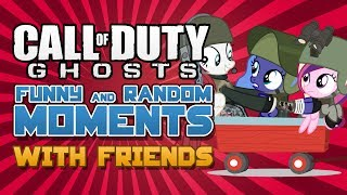 COD Ghosts Random, Funny & Rage Moments: Flying Dog Glitch, Trapping, Fails & More!