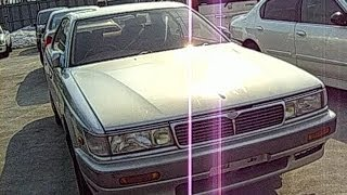 ✈ NISSAN LAUREL C33 Junkyard car  日産ローレル C33型