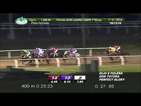 Vidéo de la course PMU PREMIO DON LADINO (1 TURNO)