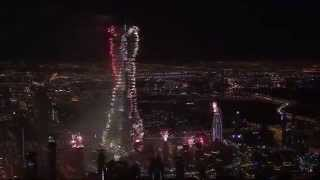Burj Khalifa Downtown Dubai New Year's Celebrations 2014