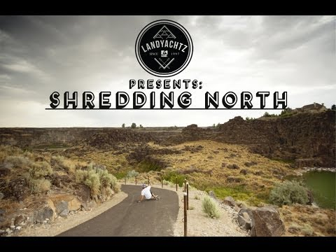 Shredding North-Landyachtz