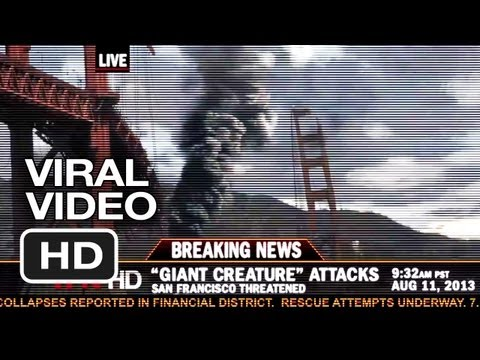 Pacific Rim Viral Video #2 - Breaking News: Kaiju Attack (2013) - Guillermo Del Toro Movie HD