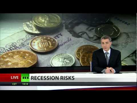 Recession Risks: UK heads for triple-dip as GDP shrinks