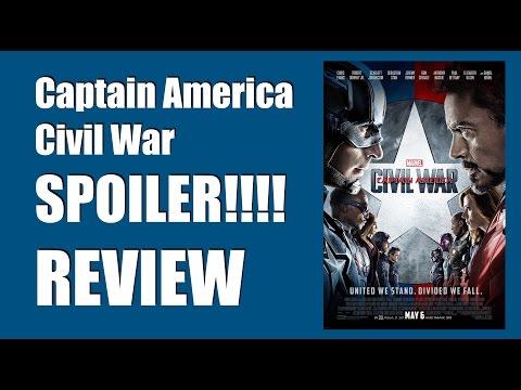 Captain America Civil War FULL SPOILER Movie Review