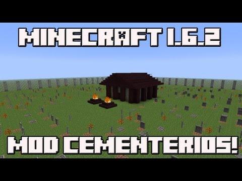 Minecraft 1.6.2 MOD CEMENTERIOS!