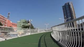 Bikers Riopardo | Maior ciclovia elevada do mundo é inaugurada na China