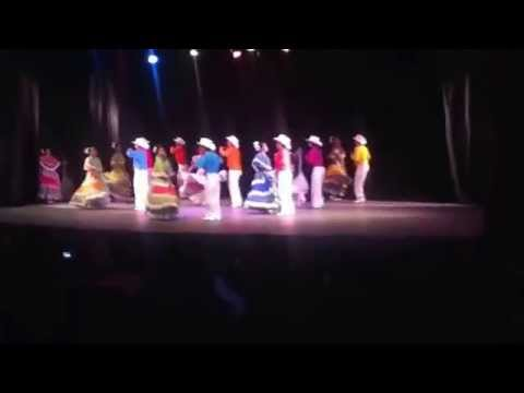 Presentacion danza colegio de bachilleres 2