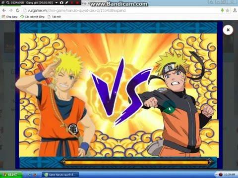 (Naruto Quyết Đấu P.2)Siêu Đẳng Cấp Của Goku•Naruto