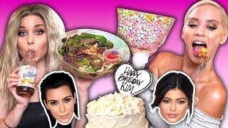 Trying the Kardashians' Favorite Foods