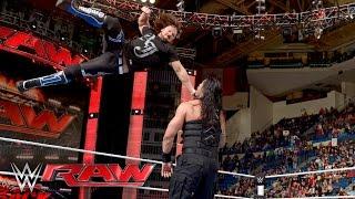 Roman Reigns vs. Alberto Del Rio: Raw, April 25, 2016