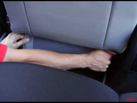 montage der sitzbez ge f r den sitz des fahrers youtube. Black Bedroom Furniture Sets. Home Design Ideas