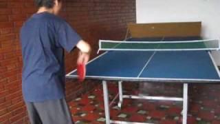 Cómo Usar Una Tabla De Bloqueo Para Tenis De Mesa