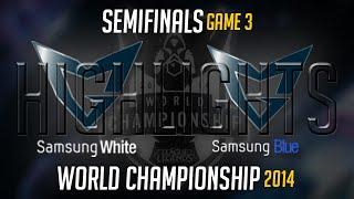 Samsung White Vs Samsung Blue Game 3 Highlights Semi-Final