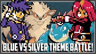 Pokemon Theme Battle - Blue vs Silver Ft. Original151