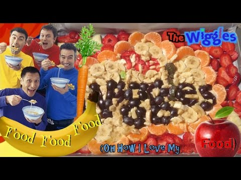 The Wiggles - Food Food Food (Oh How I Love My Food) (instrumental)