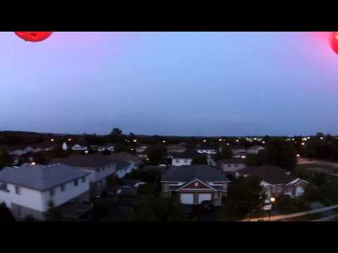 DJI Phantom 2 Vision + and my first night flight
