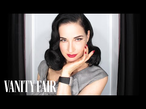 Dita Von Teese on Burlesque and Stripping—@VFHollywood with Krista Smith—Vanity Fair