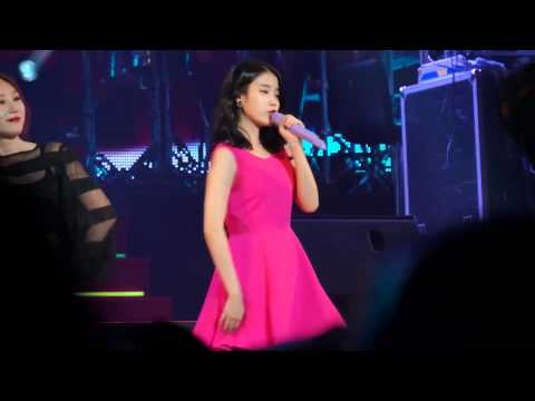 20140824 IU Concert Live - The red Shoes
