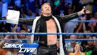 AJ Styles and a returning Chris Jericho confront Kevin Owens: SmackDown LIVE, July 25, 2017
