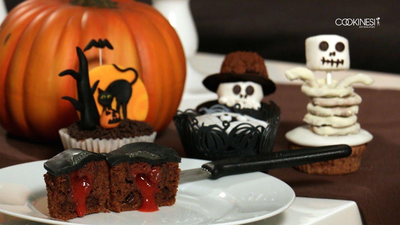 Bezaubernd Halloween Cupcakes Rezepte Sammlung Von Halloween-cupcakes Mit Blutendem Herz