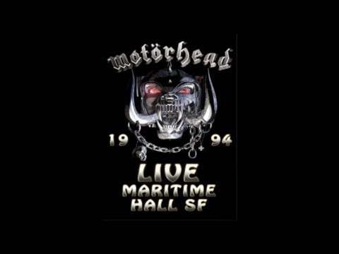 Motorhead Live at The Maritime Hall, San Francisco 1999 - Audio Only