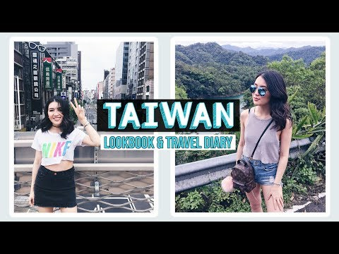 TAIWAN with Chatime || Lookbook & Travel Diary